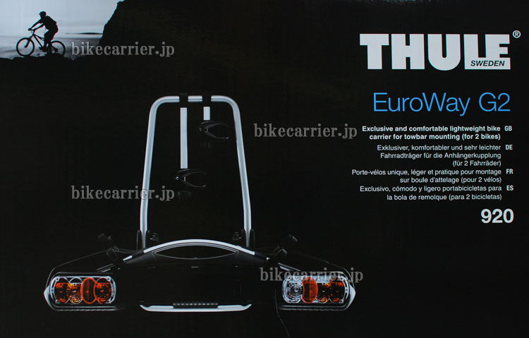 thule th920 euroway g2 g2 2. Black Bedroom Furniture Sets. Home Design Ideas